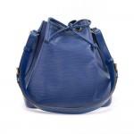 Louis Vuitton Petit Noe Blue Epi Leather Shoulder Bag