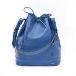 Louis Vuitton Noe Large Blue Epi Leather Shoulder Bag