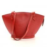 Louis Vuitton Saint Jacques PM Red Epi Leather Shoulder Bag