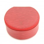Louis Vuitton Ecrin Bijoux Red Epi Leather Large Jewelry Case