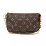 Louis Vuitton Mini Pochette Accessories Monogram Canvas Bag