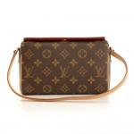 Louis Vuitton Recital Monogram Canvas Shoulder Hand Bag
