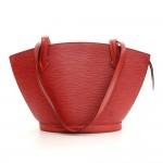 Vintage Louis Vuitton Saint Jacques PM Red Epi Leather Shoulder Bag