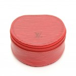 Louis Vuitton Ecrin Bijoux Red Epi Leather Mini Jewelry Case