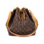 Louis Vuitton Petit Noe Monogram Canvas Shoulder Bag