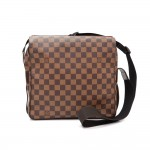 Louis Vuitton Naviglio Ebene Damier Canvas Messenger Bag