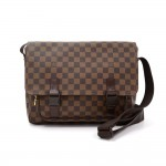 Louis Vuitton Melville Ebene Damier Canvas Messenger Bag