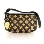 Louis Vuitton Pochette Accessories Eclipse Monogram Canvas Bag - 2009 Limited Edition
