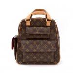 Louis Vuitton Excentri Cite Monogram Canvas Hand Bag