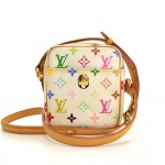 Louis Vuitton Rift White Multicolor Monogram Canvas Shoulder Bag