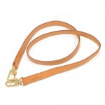 Louis Vuitton Brown Cowhide Leather Shoulder Strap For Small Bags