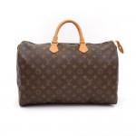 Louis Vuitton Speedy 40 Monogram Canvas Hand Bag