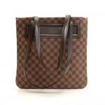 Louis Vuitton Clifton Ebene Damier Canvas Tote Hand Bag + Pouch