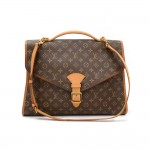 Vintage Louis Vuitton Beverly GM Monogram Canvas Briefcase Handbag + Strap