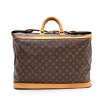 Louis Vuitton Cruiser 50 Monogram Canvas Travel Hand Bag