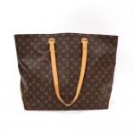 Louis Vuitton Cabas Alto XL Monogram Canvas Shoulder Tote Bag