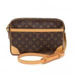 Vintage Louis Vuitton Trocadero 30 Monogram Canvas Shoulder Bag