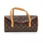 Louis Vuitton Sonatine Monogram Canvas Hand Bag