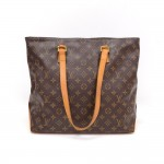 Louis Vuitton Cabas Mezzo Monogram Canvas Shoulder Tote Bag