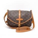 Vintage Louis Vuitton Saumur 30 Monogram Canvas Shoulder Bag