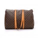 Vintage Louis Vuitton Sac Flanerie 50 Monogram Canvas Shoulder Travel Bag