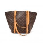 Louis Vuitton Sac Shopping Monogram Canvas Shoulder Tote Bag