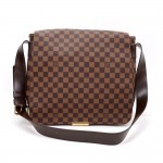Louis Vuitton Bastille Ebene Damier Canvas Large Messenger Bag