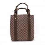 Louis Vuitton Cabas De Beaubourg Monogram Canvas Tote Hand Bag