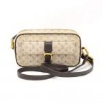 Louis Vuitton Juliette PM Dune Green Mini Monogram Canvas Shoulder Pochette Bag