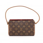 Louis Vuitton Recital Monogram Canvas Shoulder Hand Bag