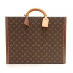 Louis Vuitton President Classeur Monogram Canvas Briefcase Trunk