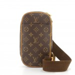 Louis Vuitton Pochette Gange Monogram Canvas Messenger Bag