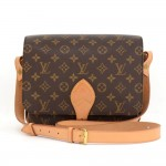 Louis Vuitton Cartouchiere GM Monogram Canvas Shoulder Bag