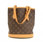 Louis Vuitton Bucket PM Monogram Canvas Shoulder Bag