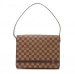 Louis Vuitton Tribeca Carre Ebene Damier Canvas Shoulder Bag