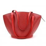 Vintage Louis Vuitton Saint Jacques GM Red Epi Leather Shoulder Bag