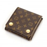 Louis Vuitton Brown Mini Monogram Canvas Jewelry Travel Case
