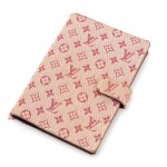 Louis Vuitton Agenda PM Mini Line Red Monogram Canvas Agenda Cover
