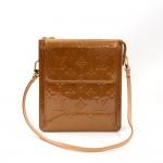 Vintage Louis Vuitton Mott Bronze Vernis Leather Handbag