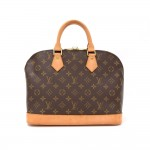 Louis Vuitton Alma Monogram Canvas Hand Bag
