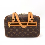 Louis Vuitton Cite MM Monogram Canvas Shoulder Bag