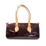 Louis Vuitton Rosewood Avenue Purple Amarante Vernis Leather Shoulder Hand Bag