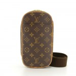 Louis Vuitton Pochette Gange Monogram Canvas Messenger Bag