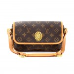 Louis Vuitton Tikal PM Monogram Canvas Pochette Hand Bag