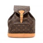 Louis Vuitton Moyen Montsouris MM Monogram Canvas Backpack Bag