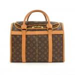 Vintage Louis Vuitton Sac Chaussures 40 Monogram Canvas Travel Bag