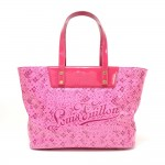 Louis Vuitton Cosmic PM Pink Blossom Vinyl Tote Bag