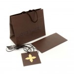 Louis Vuitton Small Shopping Bag and Receipt Envelope Set