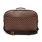 Louis Vuitton Packall GM Ebene Damier Canvas Large Travel Bag + Strap