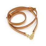 Louis Vuitton Brown Cowhide Leather Adjustable Shoulder Strap For Small Bags